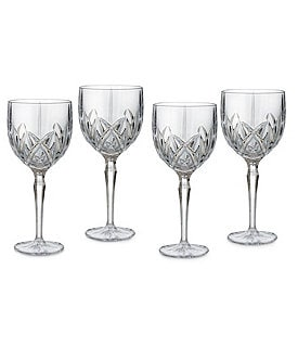 Marquis by Waterford Crystal Brookside Wine Goblet Set Image