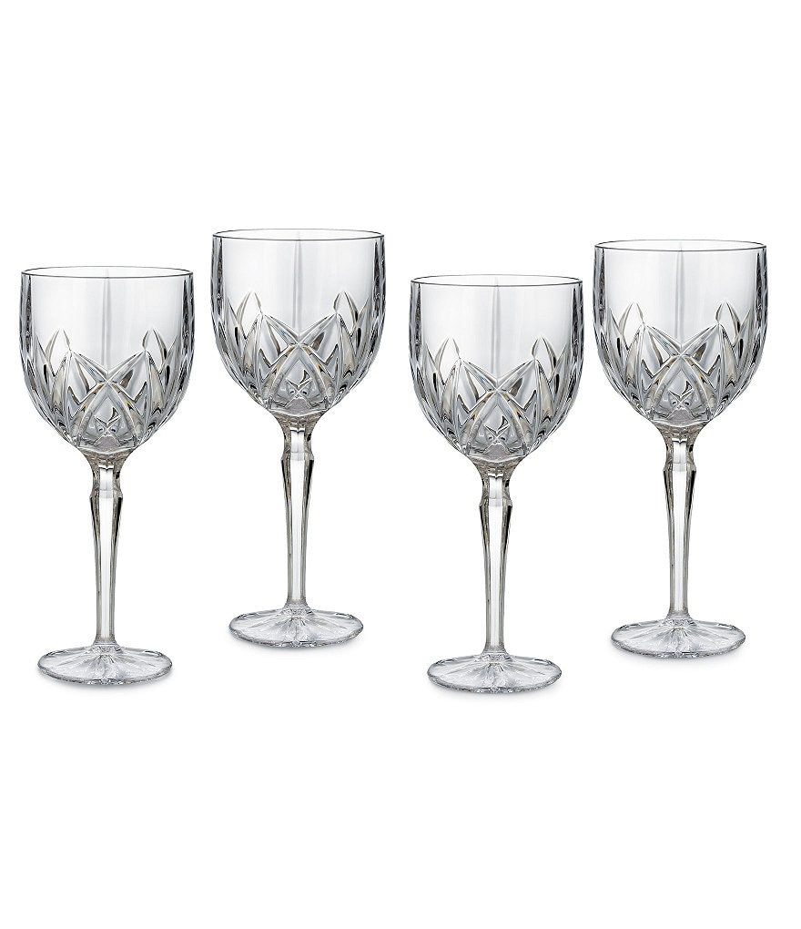 Marquis by Waterford Crystal Brookside Wine Goblet Set