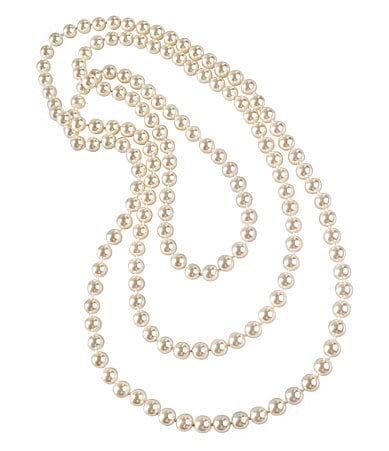 Cezanne Single-Strand Pearl Necklace