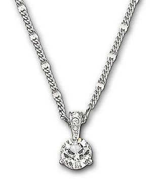 Swarovski Solitaire-Pendant Necklace