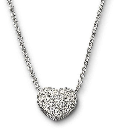 Swarovski Heart-Pendant Necklace