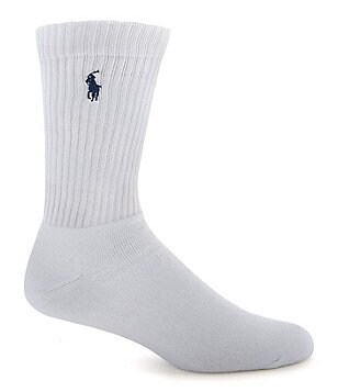 Polo Ralph Lauren Big & Tall Cotton-Blend Crew Socks 3-Pack