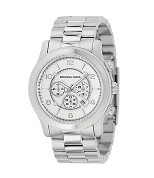 Michael Kors Men´s Runway Silver-Dial Chronograph Watch