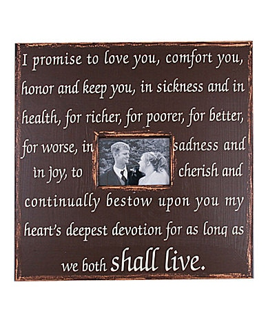 389 x 451 · 62 kB · jpeg, Magnolia lane wedding vows frame dillards ...