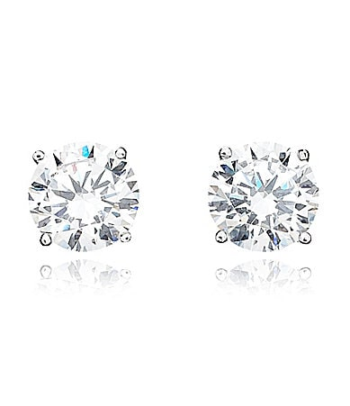 Crislu CZ Stud Earrings