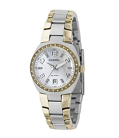 Fossil Two-Tone Sport Watch