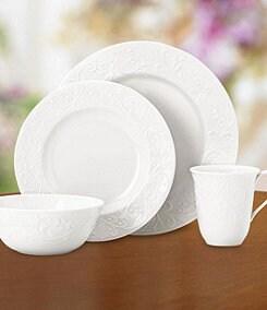 Lenox Opal Innocence Carved Dinnerware