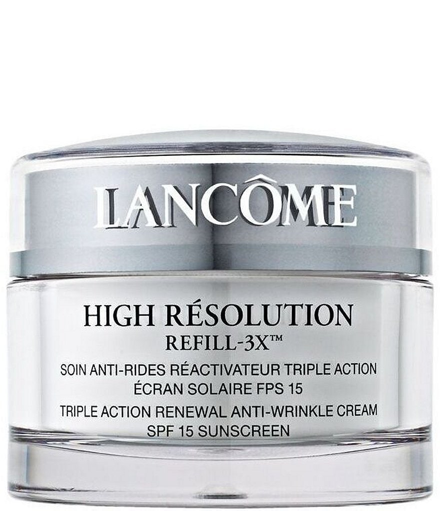 Lancome High Resolution Refill-3X™ Triple Action Renewal Anti-Wrinkle Cream SPF 15