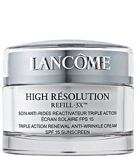 Lancome High Resolution Refill-3X� Triple Action Renewal Anti-Wrinkle Cream SPF 15 Image