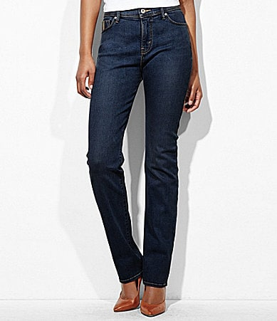 Levi�s Petites 512� Perfectly Slimming Straight-Leg Jeans