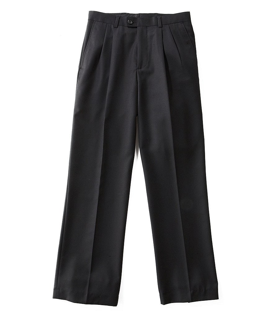 Class Club Gold Label Big Boys Big Boys 8-20 Pleated Dress Pants
