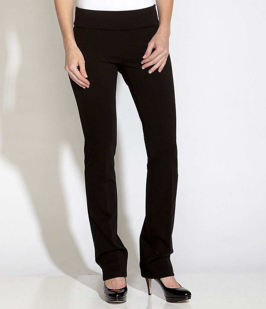 Karen Kane Pull-On Structured Knit Pants