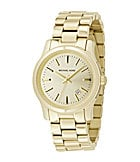 Michael Kors Jet Set Champagne-Dial Watch