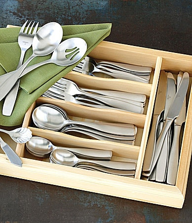 Mikasa Riverside 65-Piece Flatware Set | Dillards.