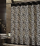 Bay Linens Safari Zebra Shower Curtain