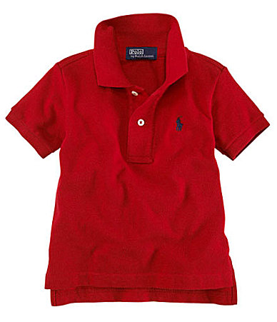 Ralph Lauren Childrenswear Infant Classic Mesh Polo Shirt