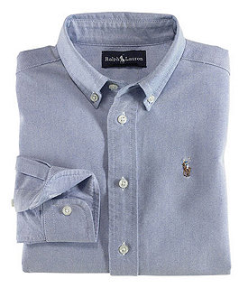 Ralph Lauren Childrenswear 8-20 Oxford Shirt Image