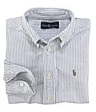 Ralph Lauren Childrenswear 2T-7 Striped Oxford Shirt