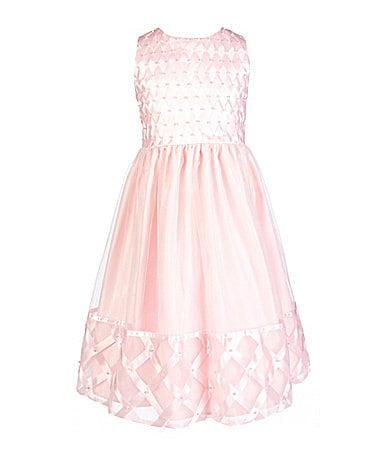 American Princess 7-12 Lattice Dress