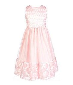 American Princess 7-12 Lattice Dress