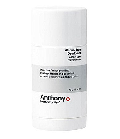 Anthony Logistics For Men Alcohol-Free Deodorant