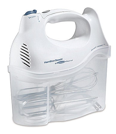 Hamilton Beach 6-Speed Hand Mixer with Storage Case