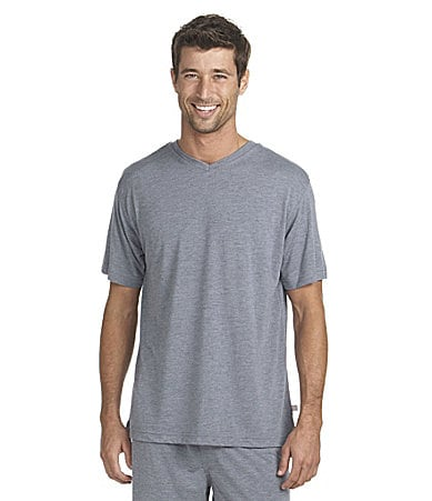 KN Men V-Neck Sleep Shirt