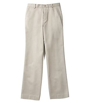 Class Club Gold Label Big Boys 8-20 Flat-Front Twill Pants