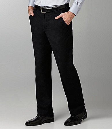 Perry Ellis Herringbone Dress Pants