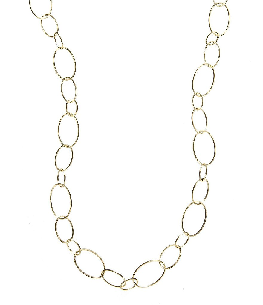 Dillard´s Tailored Oval-Link Chain Long Necklace
