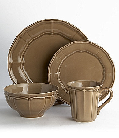 Noble Excellence Toscano Taupe Dinnerware
