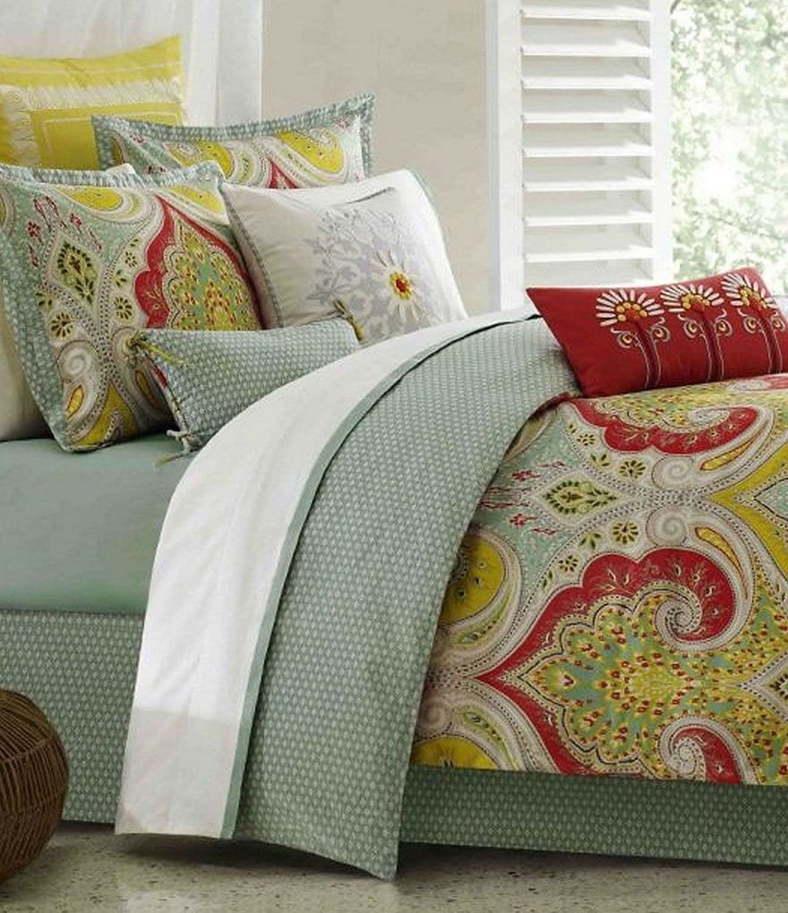 Echo Jaipur Paisley & Pebble Sateen Comforter Set