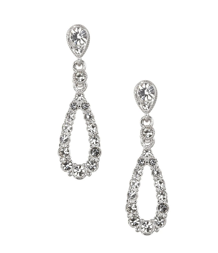 Nadri Open Raindrop Earrings