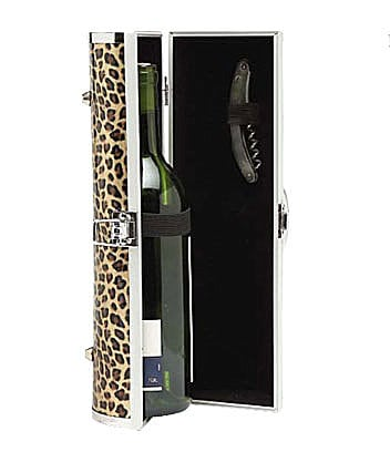 Picnic Gift Leopard Wine Purse