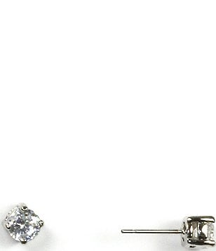 Givenchy Cubic Zirconia Stainless Steel Stud Earrings