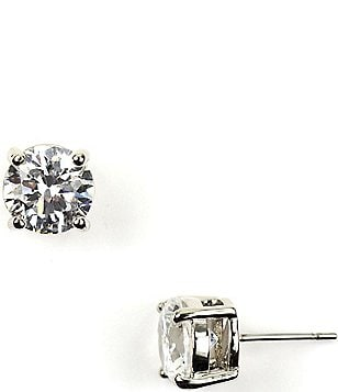 Givenchy 8mm Cubic Zirconia Stud Earrings