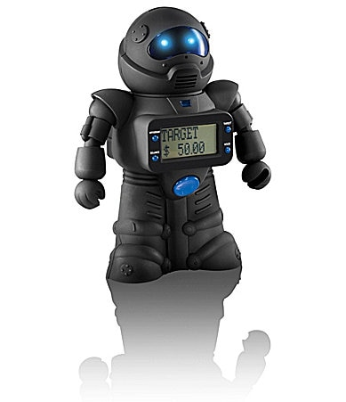 Sharper Image Robot Coin Bank