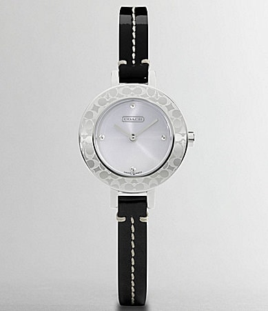 COACH BRIDGIT STRAP WATCH