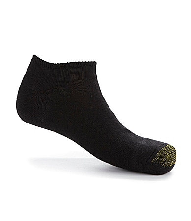 Gold Toe Extended Size Footies Socks 6-Pack