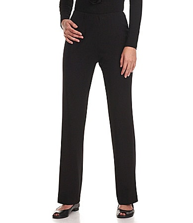 Investments II REGENT ST fit SLIM FX Comfort Control Straight-Leg Pants