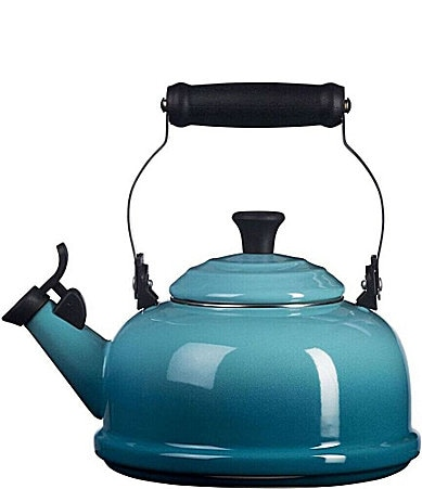 Le Creuset 1.8-Quart Enamel On Steel  Whistling Tea Kettle