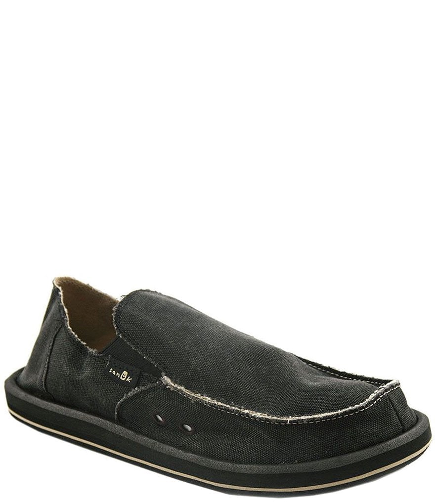 sanuk vagabond slip on shoes dillards