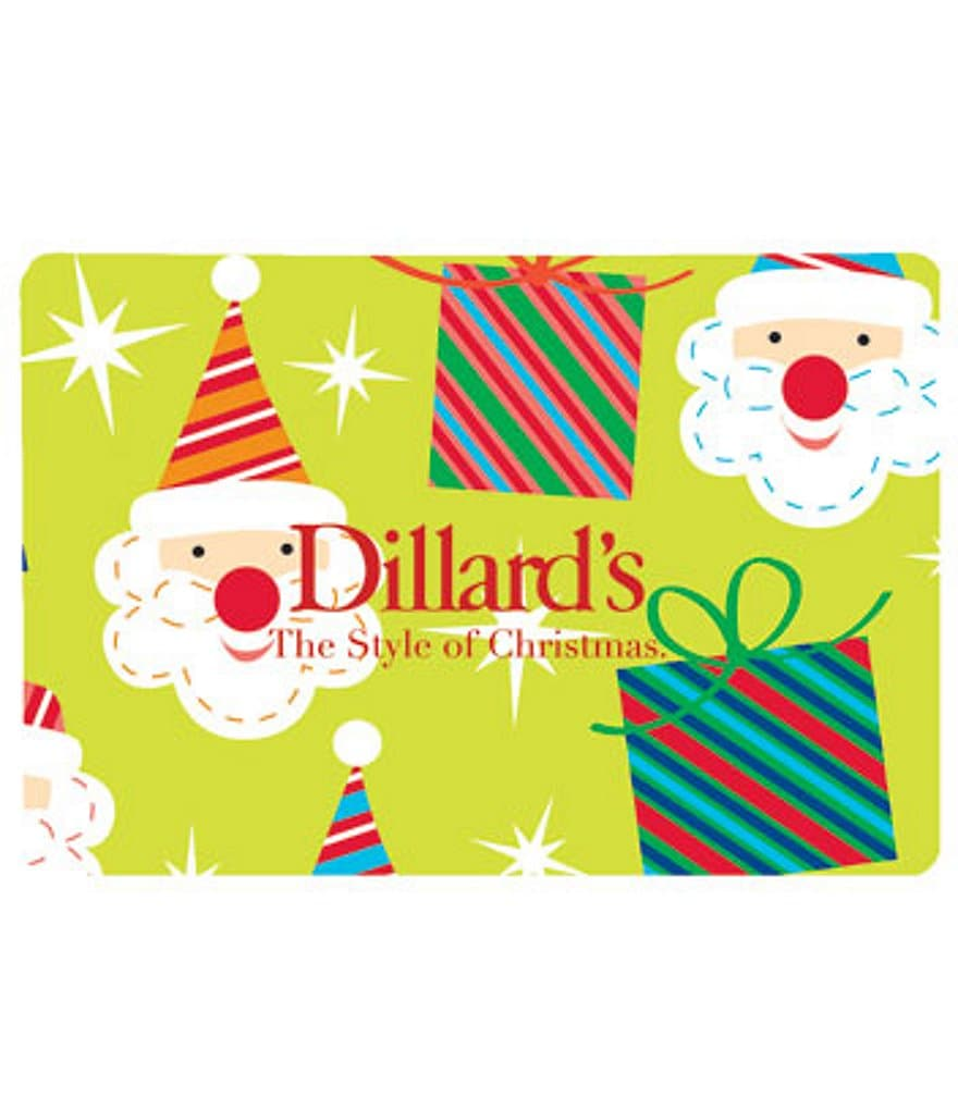 If you are a Dillard's devotee, consider signing up for a Dillard's credit card. As cardholder, you'll be treated to a variety of rewards, including: 2 reward points for every $1 charged to your Dillard's card.