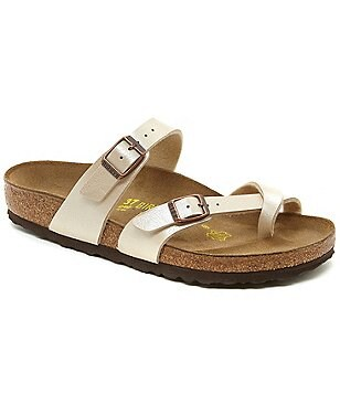 Birkenstock Mayari Women´s Double Strap Buckle Slip-On Sandals