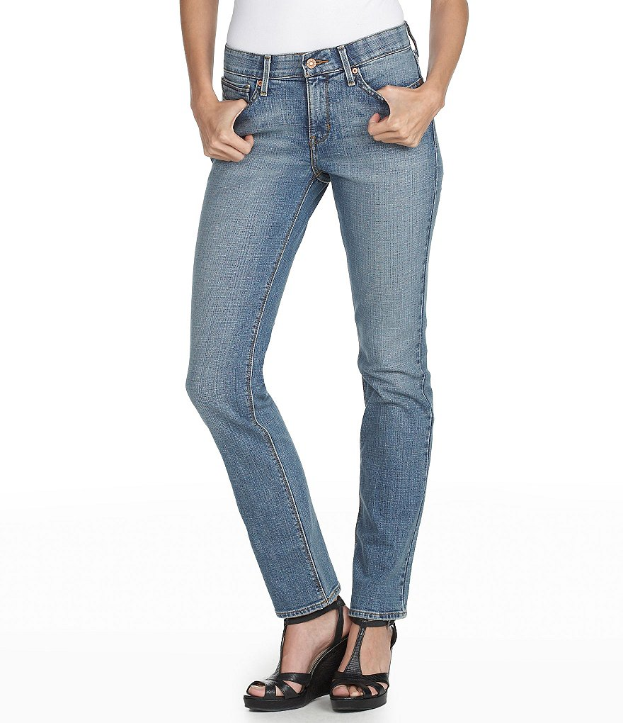 Levi's Petite 525� Perfect Waist Straight Jeans