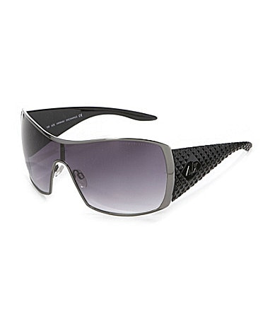Armani Exchange Metal Shield Sunglasses