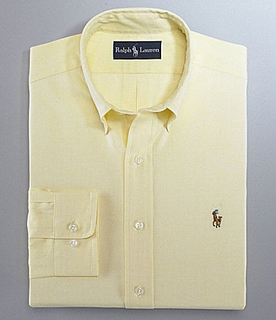 Polo Ralph Lauren Button-Down-Collar Oxford Classic-Fit Dress Shirt