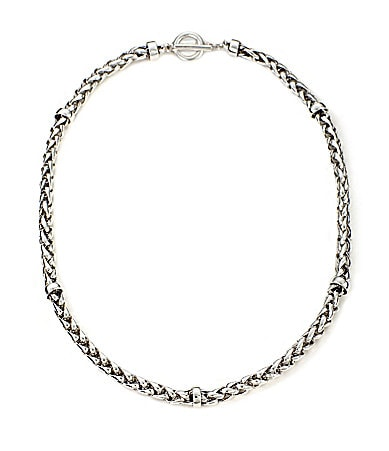 Lauren Ralph Lauren Braided Chain Necklace