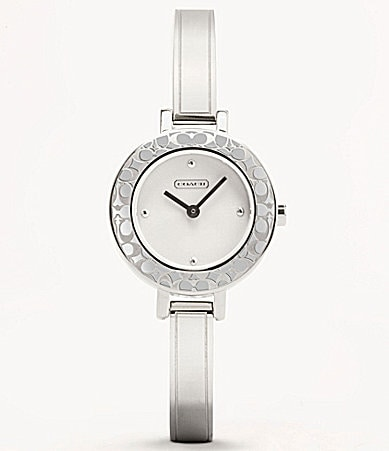 COACH BRIDGIT BANGLE WATCH