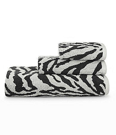 Bay Linens Animal-Print Bath Towels